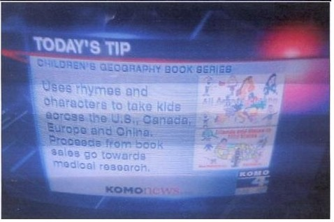 KOMO-TV Spotlight - Geography Books for Kids